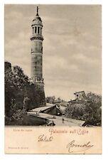 C003314   PALAZZOLO  SULL'OGLIO   TORRE  DEL   POPOLO   ANIMATA     VG  1905