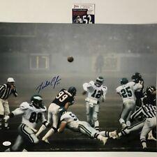 Autographed/Signed RANDALL CUNNINGHAM Fog Bowl Eagles 16x20 Photo JSA COA Auto