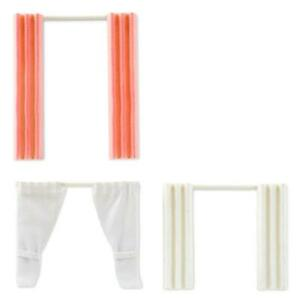 Lundby Dolls House Curtains Set of 3 Home Decor Accessory 1:18 Scale