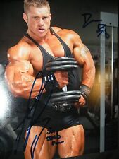 FLEX LEWIS signed BODYBUILDING 8x10 photo MR OLYMPIA ARNOLD CLASSIC protein