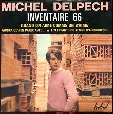 MICHEL DELPECH - INVENTAIRE 66 - CD SINGLE REPLICA DU SUPER 45 T