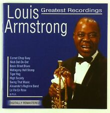 2x CD - Louis Armstrong - Greatest Recordings - A5040