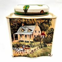 Four Seasons Tea Canister Storage Container Winter Spring Summer Fall Autumn