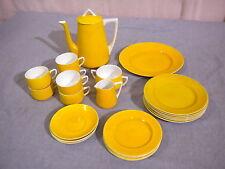 Rare 25 Pc. Set Gustafsberg Mid Century Sweden Coffee/Tea Set Pitcher, Plates