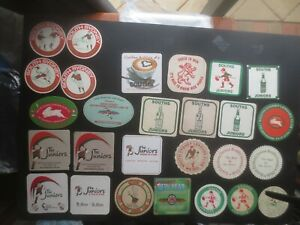27 different SOUTH SYDNEY Leagues Club collectable Issue  COASTERS.