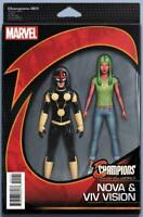 Champions Comic Issue 1 Limited Action Figure Variant Modern Age First Print .