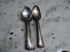 W.M.ROGERS MFG CO SILVER PLATE 12) TEASPOONS AVALON/CABIN