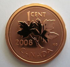 2008 CANADA 1 CENT SPECIMEN MAGNETIC PENNY COIN