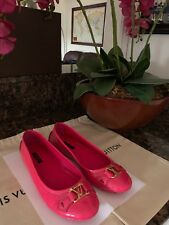Authentic LOUIS VUITTON Oxford Flat Ballerina Shoes