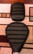 SUZUKI VZ800 Marauder 1997-2004 Custom Hand Made Black 2 Piece Seat Cover