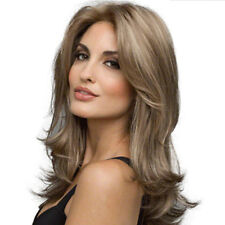 Sexy Women's Fashion Wavy Curly Long Hair Full Wigs Cosplay Party Wig 2018 New