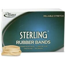 Alliance Sterling Rubber Bands Rubber Bands, 62, 2-1/2 X 1/4, 600 Bands/1lb Box