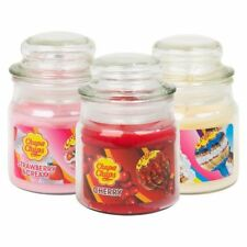 Chupa Chups Scented Candles Strawberry,Vanilla,Cherry,Lemon In Jar