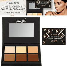 Barry M Make Up - Chisel Cheeks Contour Cream Kit - 6 Highlighting Palette