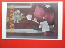 POSTCARD SOCIAL HISTORY THE NEW YORKER COVER MAR 23 1940