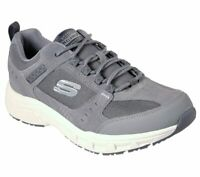 51893 Extra Wide Gray Skechers shoes Men Memory Foam Sport Walk Casual Sneaker