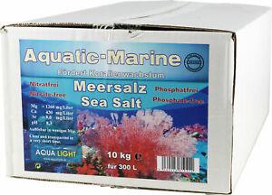 AquaLight Aquatic-marine Pro-Active Meersalz - 10 kg, Meersalz für Korallenr...