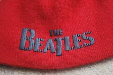 BEATLES BEANIE CAP 2007 APPLE CORP. BEATLES PRODUCT PREOWNED EXCELLENT COND.