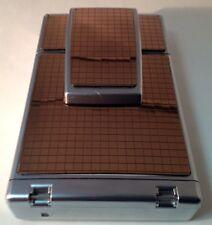 Polaroid SX-70 New! Acrylic Bronze Mirror Tile PolaSkinz Replacement Skin SLR680