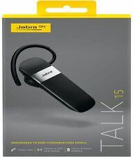Jabra Talk 15 Bluetooth Headset High Definition Hands-Free Calls Conversations