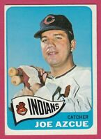 1965 Topps # 514 Joe Azcue -- Cleveland Indians -- Box 722-491