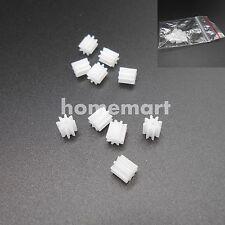 10PCS X 0.5M Plastic Spur Gear 0.5 Modulus T=8 Aperture 2mm 1.95MM 8 Teeth 8T 2A
