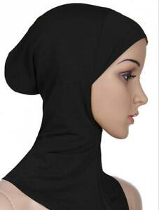 Muslim Neck Cover Head scarf Inner Hijab Caps Islamic Underscarf Ninja Scarf hat