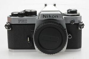 Nikon FE2 SLR Film Camera Body Chrome #603