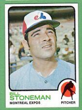 1973 Topps #254 Bill Stoneman b Expos NM/MT