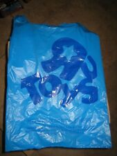 TOYS R US BOX OF 1000 BLUE BAGS FULL BOX CASE  23X13 MEDIUM BABIES GEOFFREY NEW