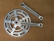 STRONGLIGHT 99 VINTAGE PEDALIER VELO COURSE BICYCLE CRANKSET 170 42 52
