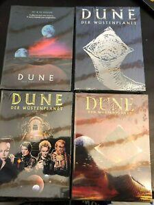 4 verschiedene Dune-Der Wüstenplanet 2D/3D Special Edition Mediabook Bluray