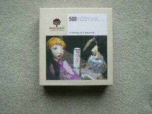 """WENTWORTH 500 piece wooden jigsaw """"In Santiago de Compostella"""" Complete"""