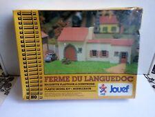 maquette jouef ferme du Languedoc sous blister train HO