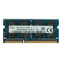 Hynix 8GB 10600S 2RX8 PC3-1333Mhz 1.5V 204pin CL11 SO-DIMM Laptop Memory RAM