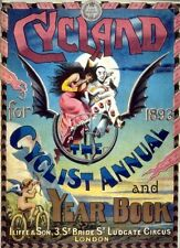 Cycland Cycling Magazine Vintage ADVERTISING ART PRINT - Poster