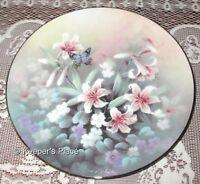 Tan Chun Chiu AMETHYST FLIGHT Jewels Of The Flowers Series Limited Edition Plate