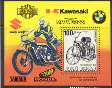 Guinea Bissau 1985 MOTOR CYCLE/Bikes 1v m/s ref:n11235