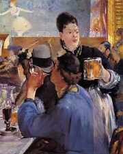 Corner In A Cafe Concert 1878 1879 A3 Box Canvas