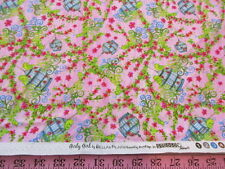 """""""Girly Girl"""" by Bella Pilar for Studioe cotton quilting fabric BTY"""