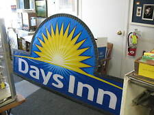 A Huge 8' x 4' Days Inn Hotel Sign - Hotel Was Recently Torn Down In Corning. NY