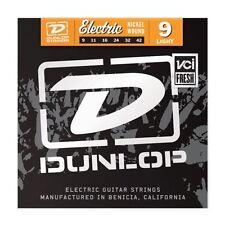Dunlop Cuerdas para Guitarra Eléctrica 9-42 Níquel Luz Hecho en EE. UU. DEN0942