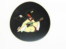 Ruscha Wandteller 50er Jahre Japanisches Motiv