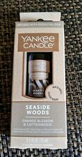 **NEW** Yankee Candle Seaside Woods Diffuser Oil - Infused with essential oils