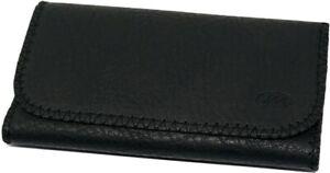 PLAIN TOTAL ALL BLACK Tobacco Cigarette Smoking Paper Pouch Case Bag Holder
