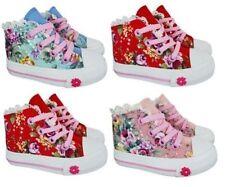 Chaussures à zip en toile pour fille de 2 à 16 ans