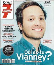 TELE 7 JOURS n°2997 04/11/2017  Vianney/ F.Flament/ Bona/ Vignali/ Nouvelle star