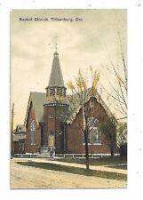 Oxford County TILLSONBURG ONTARIO  Baptist Church