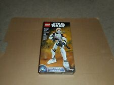 STAR WARS LEGO 75108 CLONE COMMANDER CODY BUILDABLE FIGURES DAMAGED