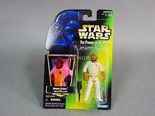 Vintage Star Wars ADMIRAL ACKBAR  Green Card Holo Action Figure POTF  #g2